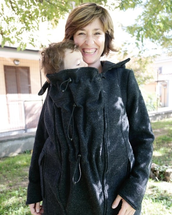 Cappotto babywearing 3 in 1