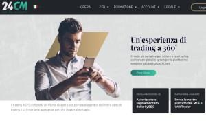 24CM Piattaforma Trading Online