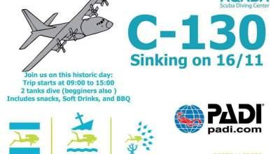 C-130 in Aquaba