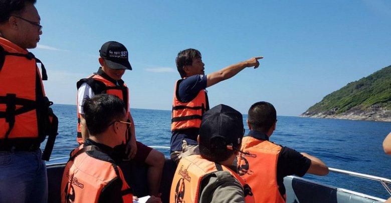 חוקרי משטרת תאילנד בזירת האסון Photo: Tourist Police