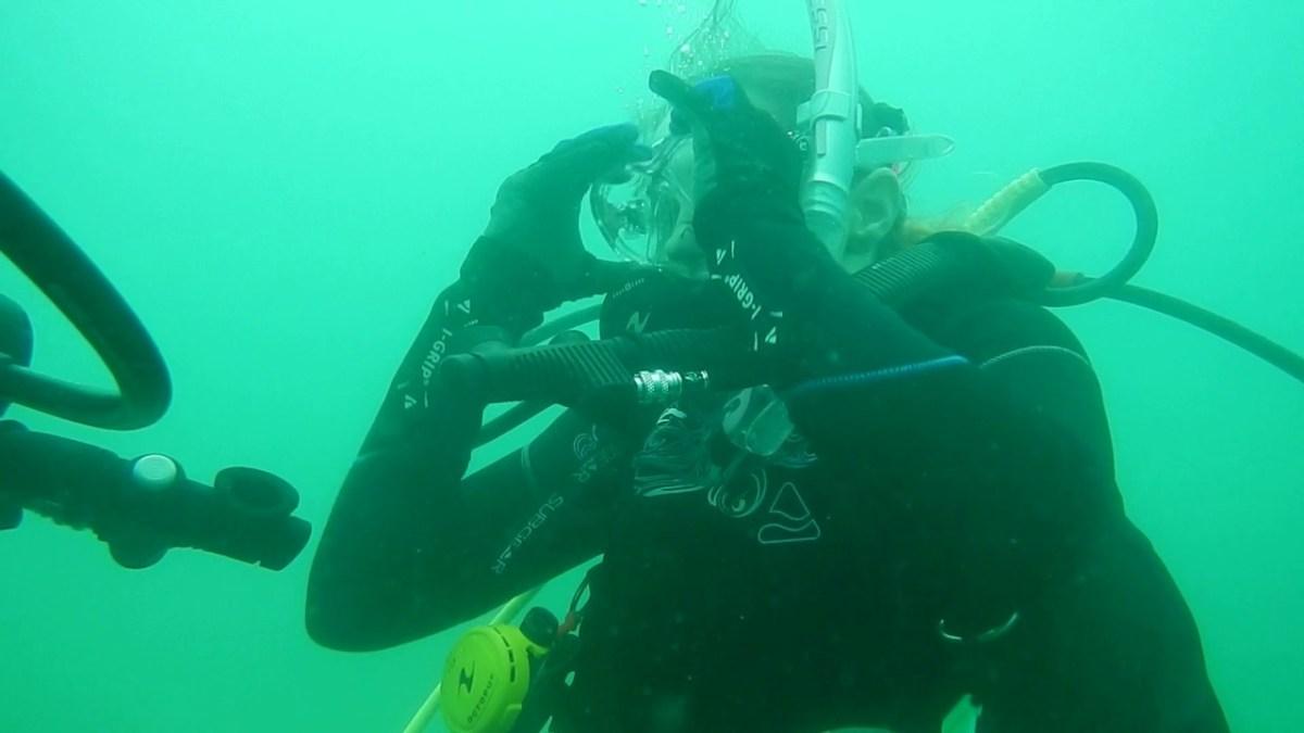 פאניקה בקורס צלילה