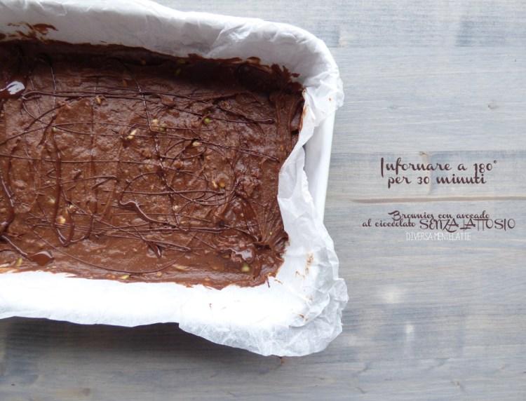 brownies da infornare