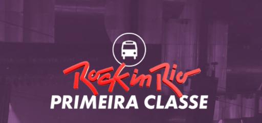 ROCK IN RIO  ÔNIBUS DE 1ª CLASSE