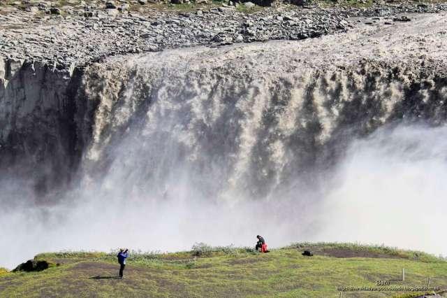 la cascada Dettifoss en islandia