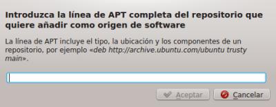 incluir el repositorio kubuntu-ppa/backports