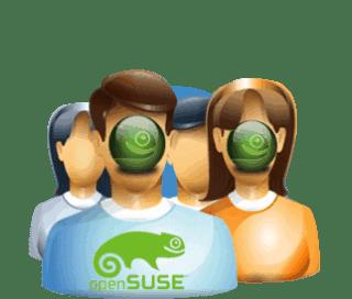 crear una cuenta de usuario en opensuse