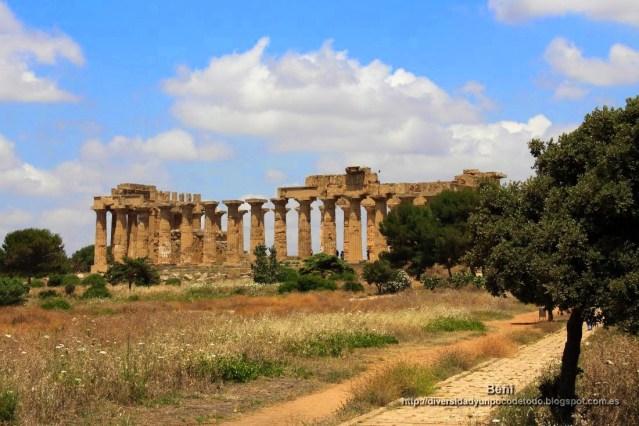 templo griego en Selinunte, sicilia