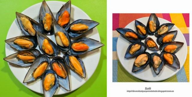 mejillones gallegos y del mediterraneo espanol
