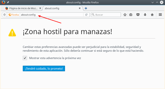 gestion de color en firefox