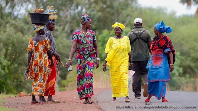 mujeres gambianas