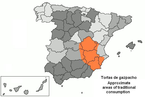 area donde se hacen los gazpachos manchegos