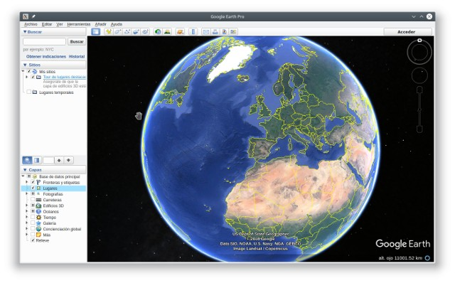instalar google earth en ubuntu 18.04 lts
