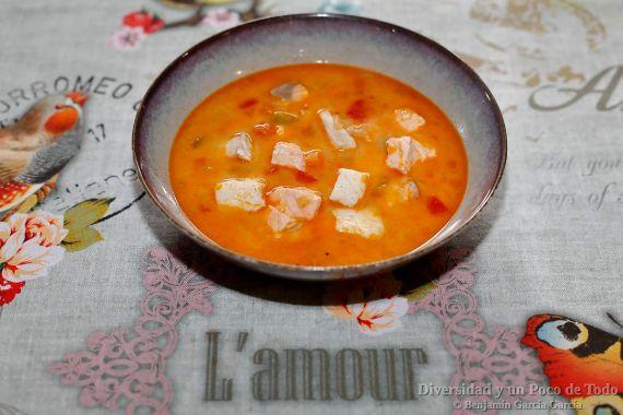 sopa de pescado islandesa