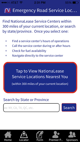 """Nationalease Emergency Services and Fuel App"""