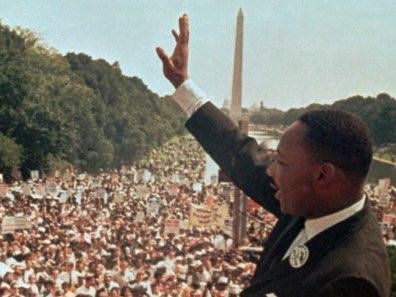 Dr. King delivers famous I Have A Dream speech to nearly 300,000 people in Washington, D.C