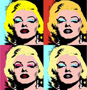 English: Own work made in the style of Andy Warhol