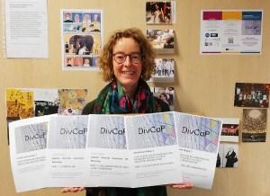 The project coordinator is showing the publications produced by the DivCap project