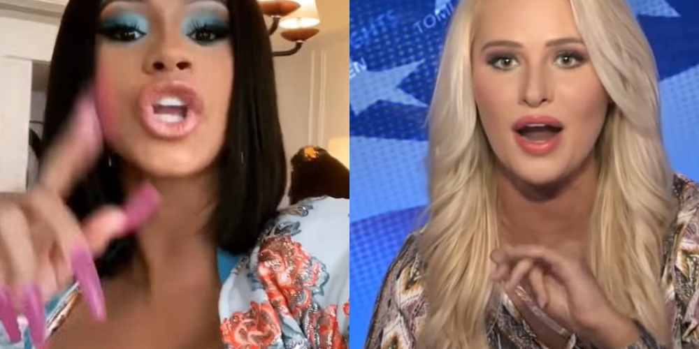 Cardi B  Claps Back On Tomi Lahren: