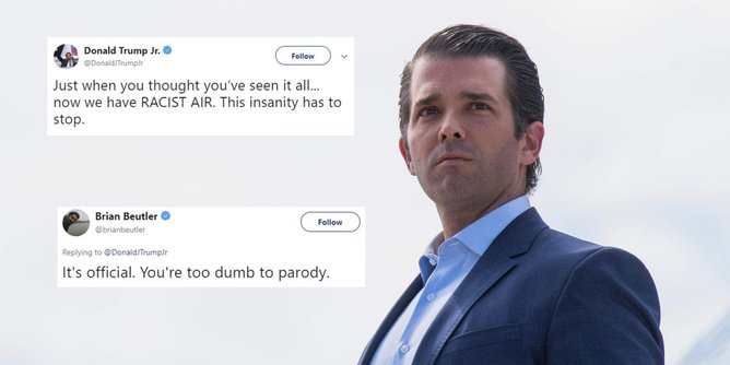 Donald Trump Jr. blacks hispanics
