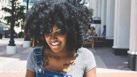 laws Khalisa Rae Thompson natural hair discrimination Aveda salons Raleigh North Carolina Black hair women texture fee