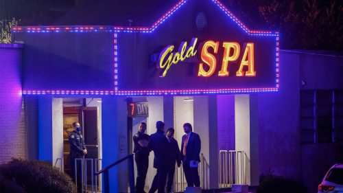 At least eight killed in multiple shootings at Asian massage spas in Atlanta area, USA - 16 Mar 2021