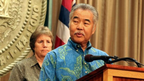 Hawaii Gov. David Ige