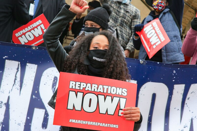reparations bill moves through Capitol Hill