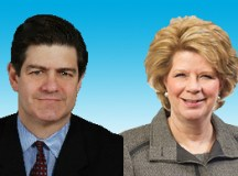 Jim Turley, Beth Mooney