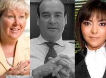 Kate Barton, Manuel Solano, Nora Morales