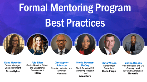 Mentoring Programs webinar speakers