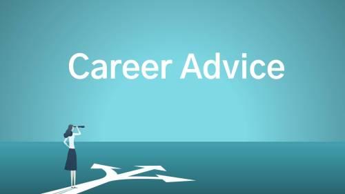 Career advice video series