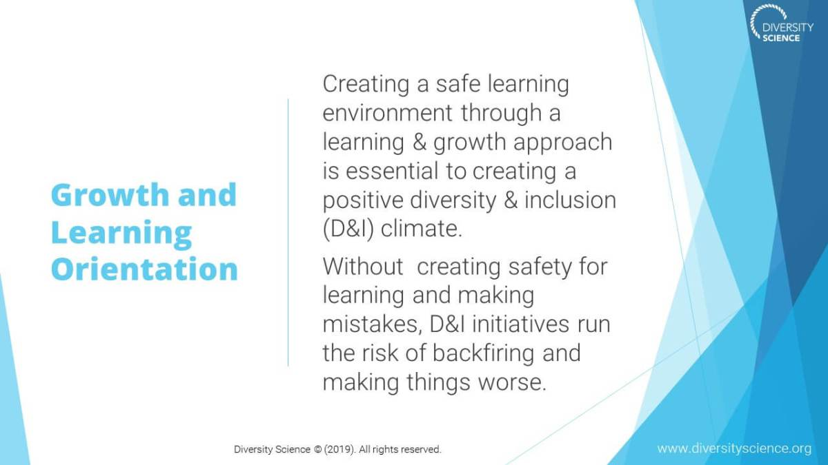 Learning & Growth Mindset Psych Safety