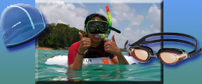 Snorkeling and Swimming equipment at Hazell's Water World - Diver Supply Barbados