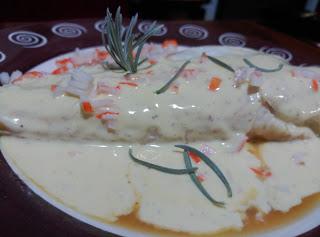 receta de cola de rape a la plancha y curry