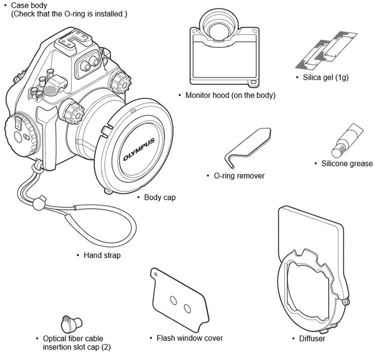 Olympus PT-EP13 Housing for Olympus OM-D E-M5 Mark II Camera
