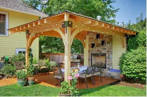 10 stand alone patio cover ideas that