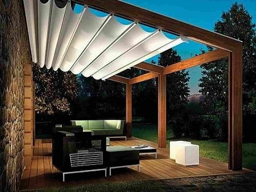 35 Most Attractive And Cozy Sunshades For Patio Ideas