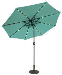 9 39 lighted patio umbrella. lighted patio umbrellas solar ...