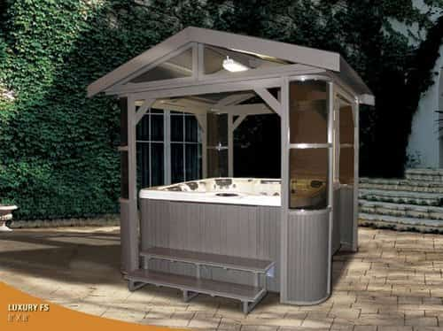 10 Hot Tub Enclosure Winter Ideas That You Have to Build