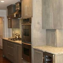 Kitchen Countertops White Pop Up Electrical Outlet For 15 Gorgeous Grey Wash Cabinets Designs Ideas
