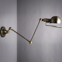 DIY Wall-Mounted Reading Lamps for Bedroom Installation