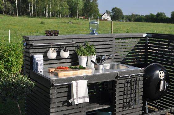 15 most outrageous outdoor kitchen sink
