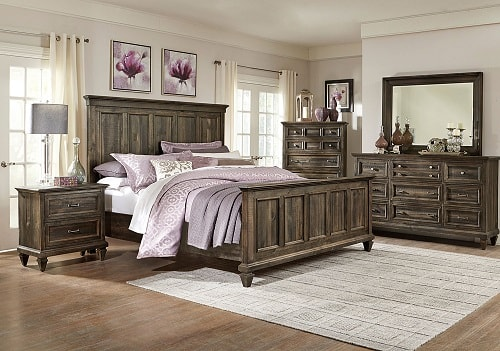 Elegant and Gorgeous 4 Piece Levin Bedroom Sets Under 2500
