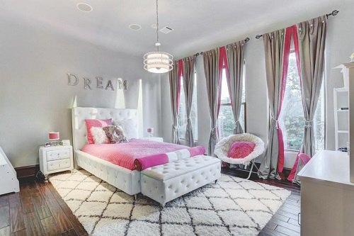Chic and Glam with Pink White and Gold Bedroom  Ideas  Tips