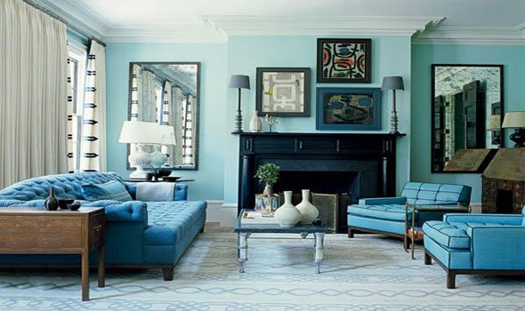 13 Kinds Of Teal Living Room Accessories To Renew The Views