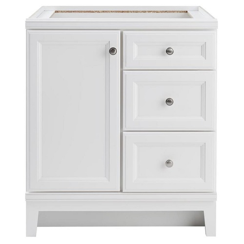 Top 15 Bathroom Vanity Cabinet Without Tops Ideas That You