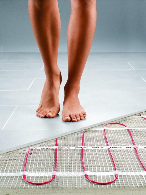 Heated Floors In Bathroom  Definition Tips DIY Pros
