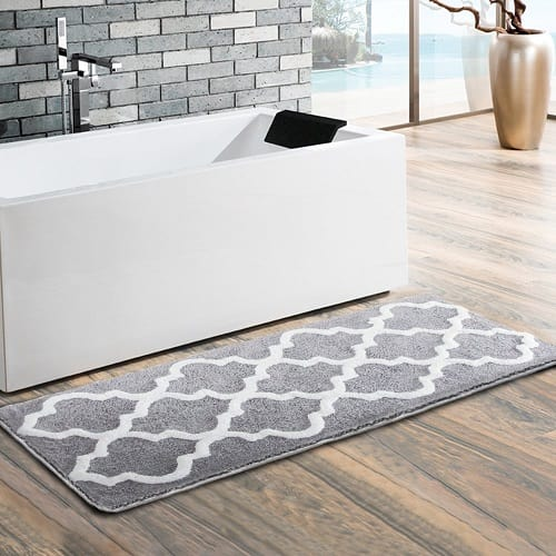 15 Prodigious and Comfort Long Bathroom Rugs Under $65