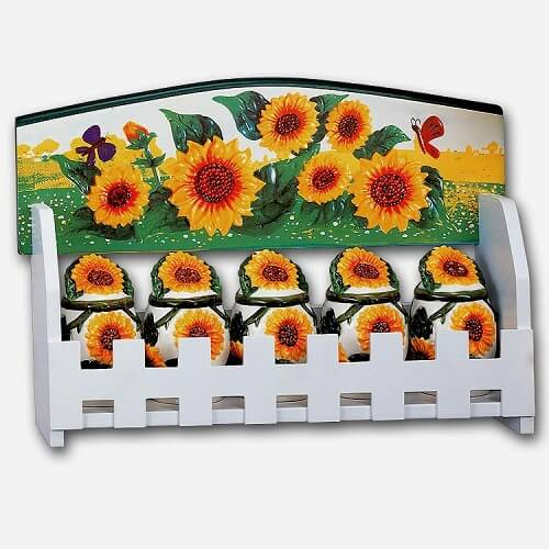 10 Mesmerizing Sunflower Kitchen Decor Theme Under 75