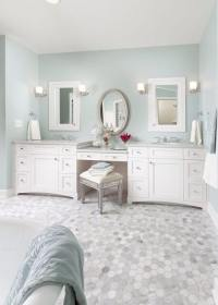 10+ Stunning & Gorgeous Bathroom Vanity with Makeup ...